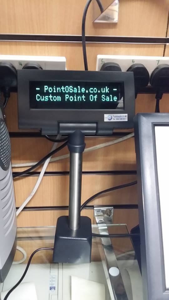 Customer usb pole displays serial com port