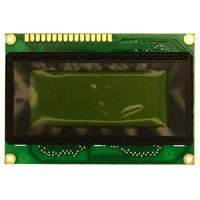 MDLS-16465-SS-LV-G-LED-04-G, LCD DISPLAY MODULE 16X4 SUPERTWIST