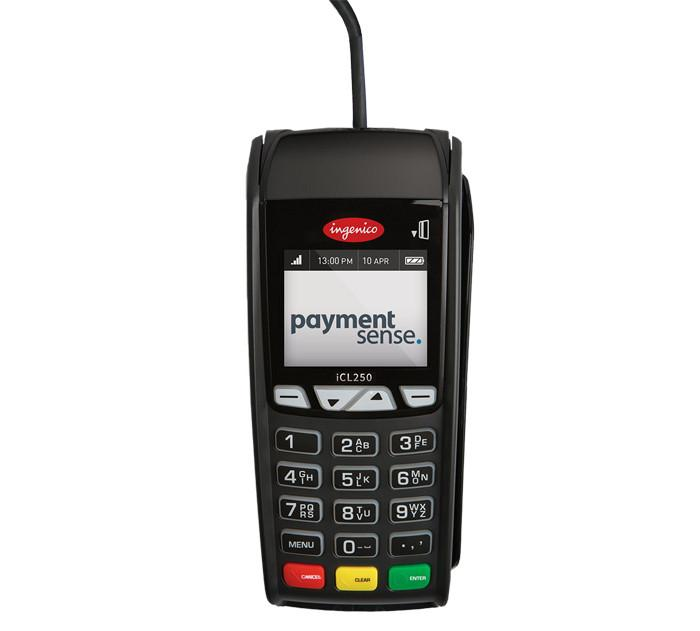 Static integrated PDQ chip & pin terminal - Ingenico