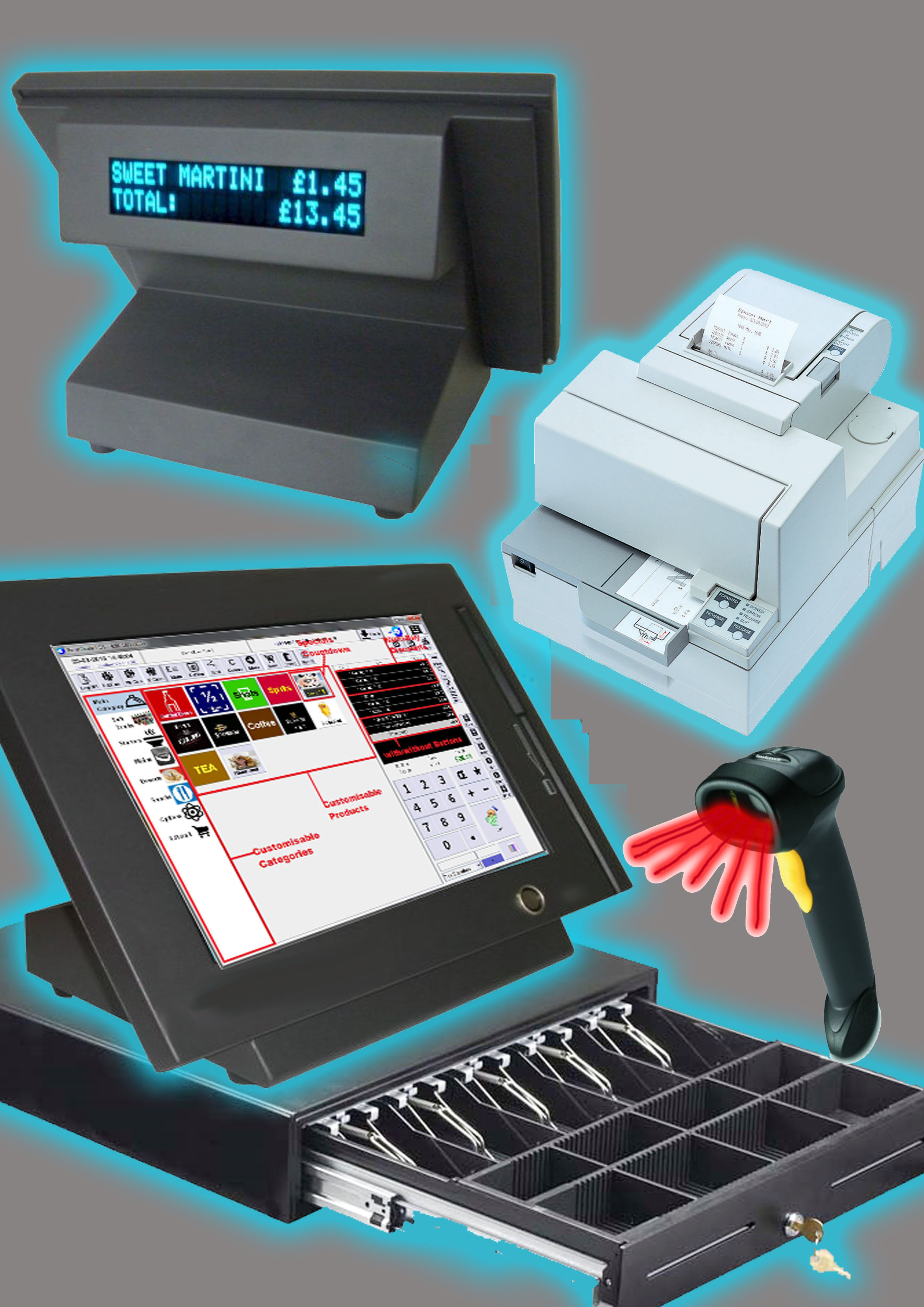 EPOS Till System everything you need for convenience store or sh